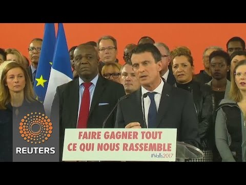 French ex-Prime Minister Manuel Valls seen set to win Socialist nomination