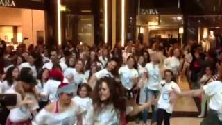 Diabetes day flash mob 9/11/2013 golden hall