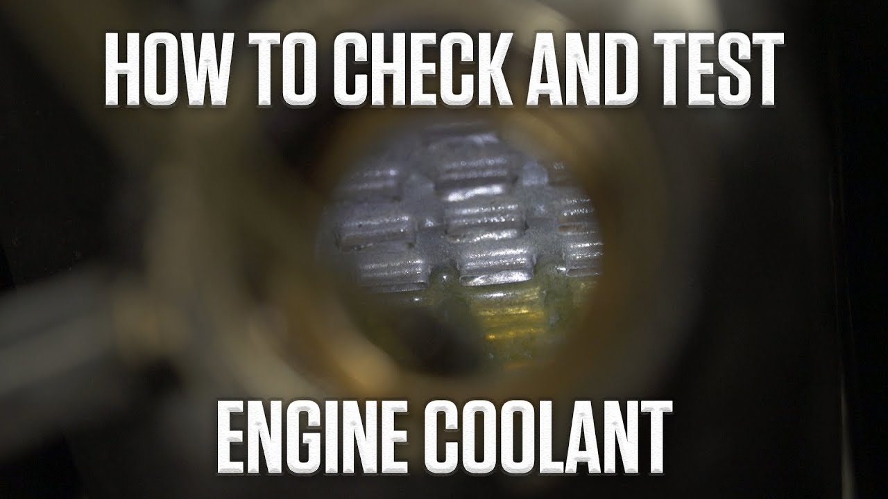 DIY: How to check and test your coolant thumbnail
