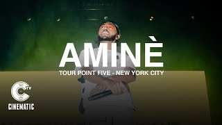 """Aminé Performs """"DR. WHOEVER"""" & """"CANTU"""" Live in New York 