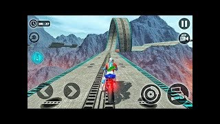 Impossible Motor Bike Tracks Games | Play Impossible Racing Games | Android Gameplay Video 2019