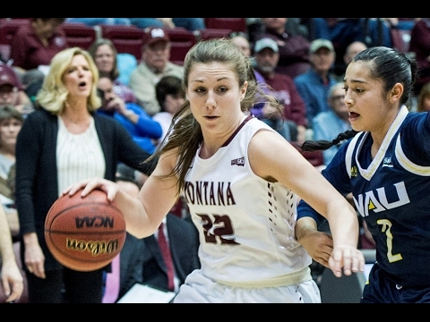 Montana's McKenzie Johnston - #BigSkyWBB Player of the Week