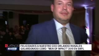 Orlando Rosales, CEO de Mediavista, fue galardonado en