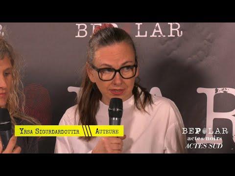 Vidéo de Yrsa Sigurdardottir
