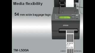 Epson TM-L500 - YouTube