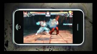 Street Fighter 4 - iPhone | iPod touch - official video game launch trailer
