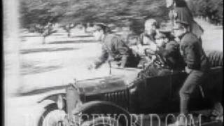 STOCK FOOTAGE - Silent Comedy Sample