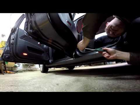 Zaz Forza разборка дверей (Zaz Forza disassembly door)