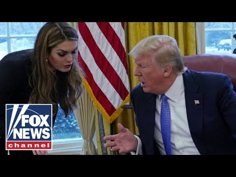 Hope Hicks tests positive for coronavirus following travel with Trump: Report