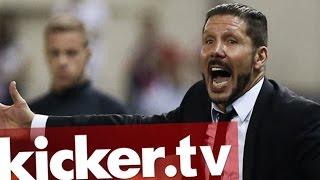 Simeone schwört Atletico auf Barcelona ein - kicker.tv