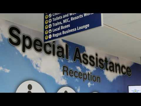 Arriving at the airport and Departures - PART 2