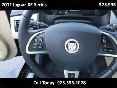 2012 Jaguar XF-Series Used Cars San Ramon CA