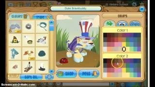 AJ Tutorial: How to Get a Secret Color (Feat. Oceanbunny)