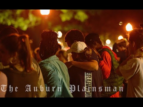 A Vigil was held in support of Aniah Blanchard and her family on Samford Lawn on Oct. 30, 2019, in Auburn AL.  Shot and Edited by Cameron Brasher | Video Editor.
