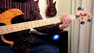 Tom Tom Club - Genius Of Love Bass Lesson and Tabulature