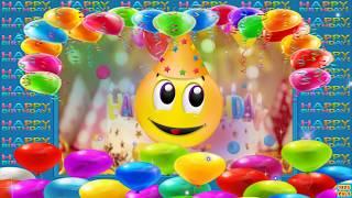 Happy Birthday Song instrumental with Smileys/Emoji's