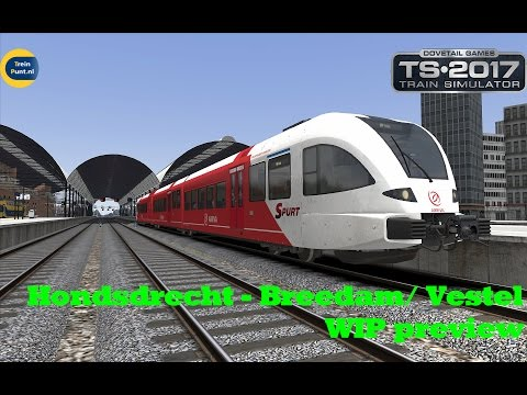 Hondsdrecht - Breedam/ Vestel | WIP preview | Train Simulator 2017