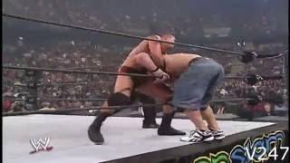 John Cena vs Randy Orton SummerSlam 2007 Highlights width=