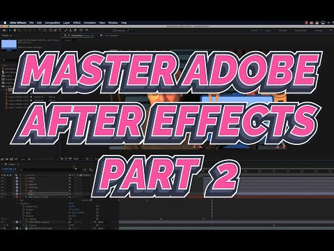 After Effects Tutorial 2021 Part 2