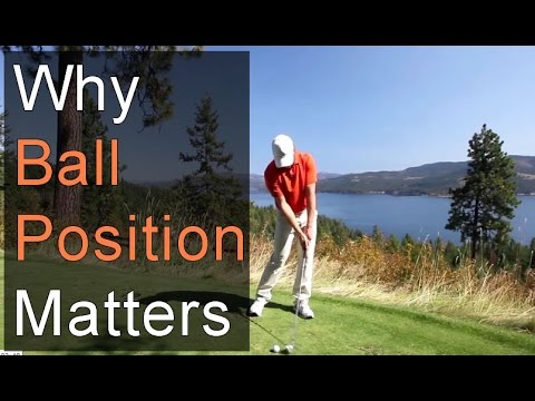 GOLF BALL POSITION AT SETUP - WHY IT MATTERS
