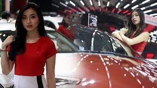Deretan Wajah SPG di Pameran Gaikindo Indonesia International Auto Show Banten