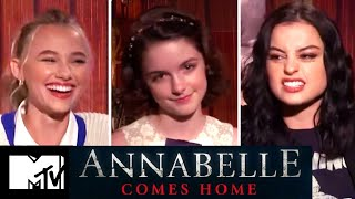Annabelle Comes Home Scariest Moments From Filming + Cast Play Would You Rather