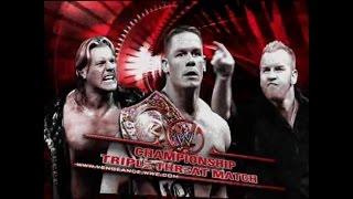 John Cena vs Christian vs Chris Jericho Highlights - WWE Vengence 2005 width=