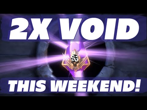 2x VOID THIS WEEKEND! RAID SHADOW LEGENDS 2X VOID SUMMONS