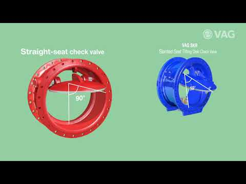 Animation SKR Check Valve