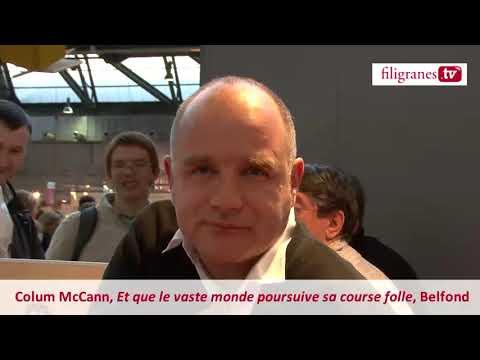 Vidéo de Colum McCann