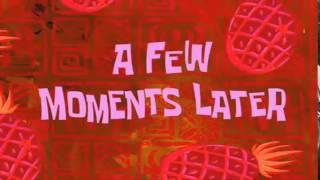"SpongeBob Downloadable ""A Few Moments Later"""