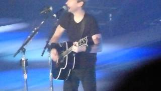 Nickelback - When We Stand Together - live Manchester 4 october 2012 - HD