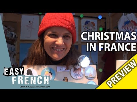 How do French people celebrate Christmas? (Trailer) | Easy French 94 photo