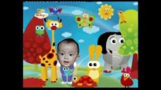 Hokey Pokey Dancing Baby TV - Fadhiel from Indonesia