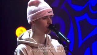 JUSTIN BIEBER - HOME TO MAMA (LIVE) 2015