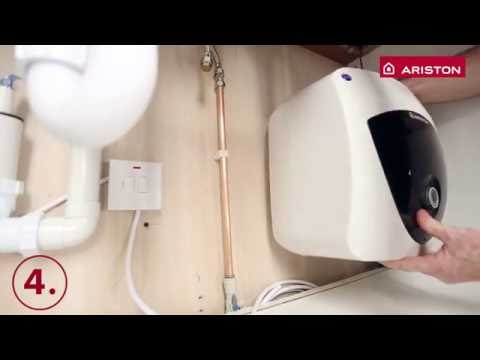 Ariston Andris Lux - Water Heater - installation in 10 easy steps