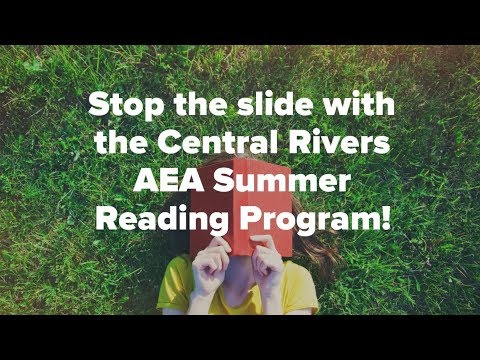Video Summer Reading Program at Central Rivers AEA