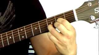 Beginning Guitar Chords 101 - Lesson #1 - First Beginner Chords: D and A7