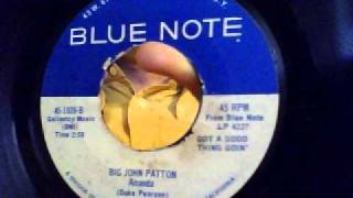 amanda - big john patton - blue note 1966