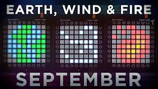 Earth, Wind & Fire - September (JNATHYN Remix) | Triple Launchpad Cover