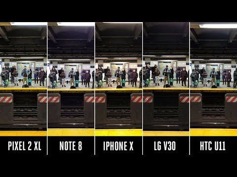 Camera shootout: iPhone X vs. Pixel 2 vs. Note 8