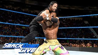 Kofi Kingston vs. Jimmy Uso: SmackDown LIVE, July 18, 2017