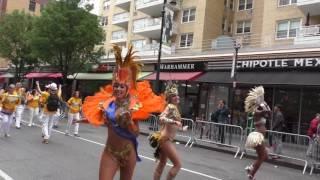 Dance Parade~NYC~2016~Danielle Lima and Samba Dancers having fun~NYCParadelife