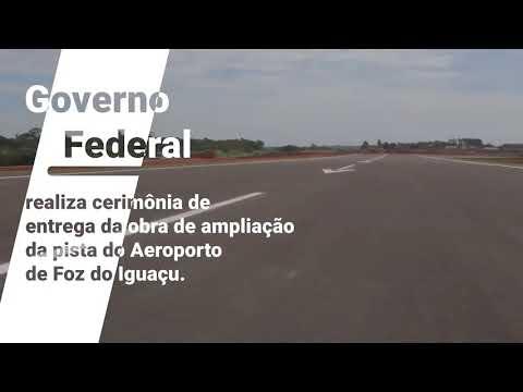 Melhorias no Aeroporto de Foz do Iguaçu: América do Sul, Europa e EUA. Turismo e emprego
