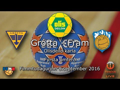 Grótta - Fram | Olísdeild Karla 2016 | 8. sept 2016 | 1. umferð