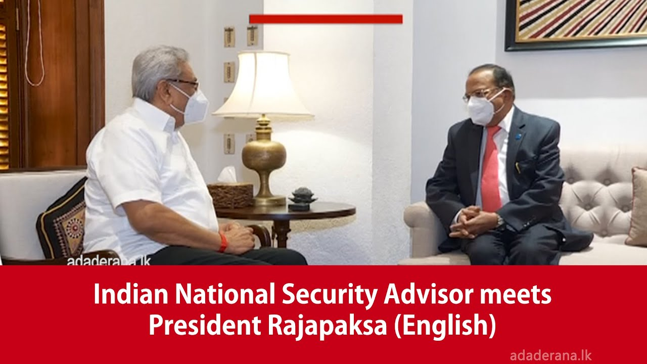 Counter Logic Gaming - Indian National Security Advisor meets President Rajapaksa (English)