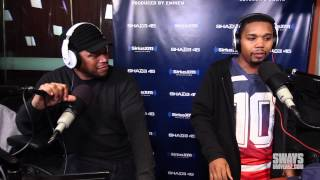Charles Hamilton Freestyles Live on Sway in the Morning!