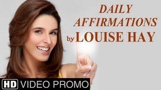 Raageshwari narrates Daily Affirmations by Louise Hay  - 30 Sec Promo - English