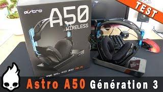 Vidéo-Test : [FR] Test Complet Astro A50 wireless Gen 3 - Le meilleur casque gamer sans fil ?