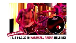 Red Hot Chili Peppers - LISÄKEIKKA 14.9.2016 @ Hartwall Arena